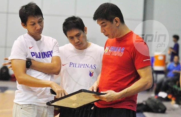 Uichico's Gilas team begins SEAG buildup with matches against D-League sides