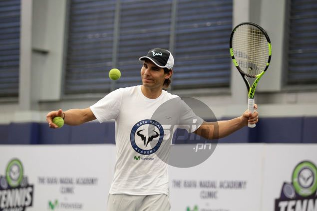 Rafael Nadal makes first Manila IPTL appearance as Indian Aces face UAE Royals