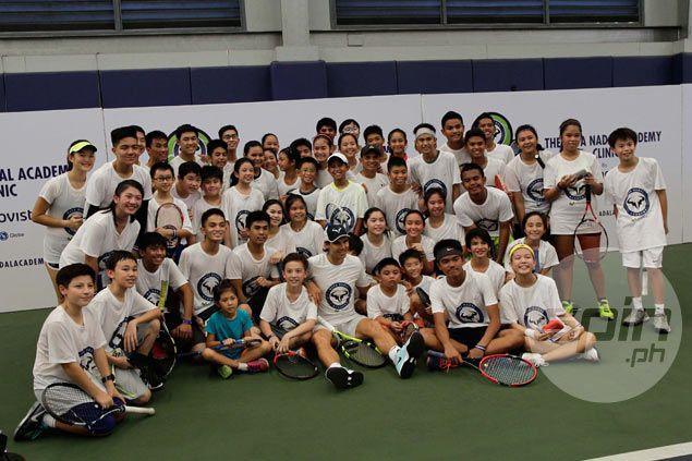 'King of Clay' Rafael Nadal wastes no time warming up to Filipino fans