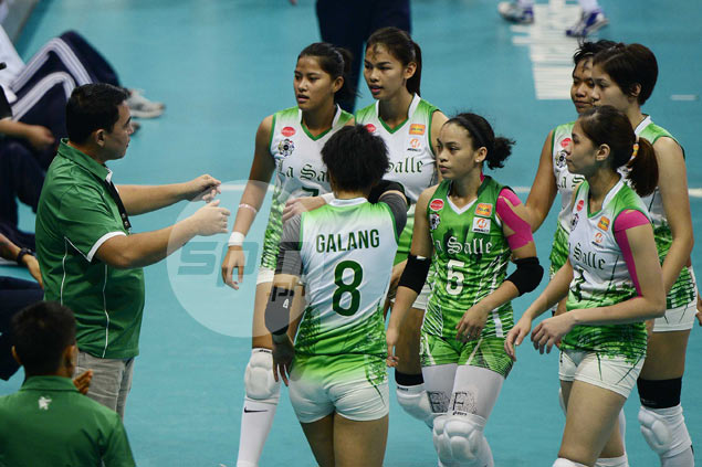 DLSU coach Ramil de Jesus admits Lady Spikers still searching for a leader