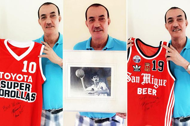 Ramon Fernandez's Toyota, SMB jerseys, portrait to be auctioned off for charity