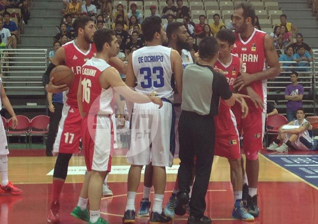Tall, efficient Iran deals Gilas Pilipinas a reality check in Jones Cup victory