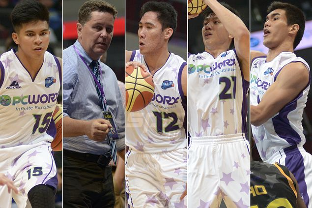 Who among Ravena, Teng, Rosario, Belo will you draft if given a chance? Tim Cone responds