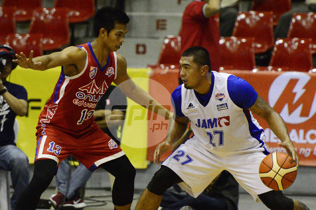Ex-pro Raymond Aguilar shows up Belo and Tolomia in D-League MVP race