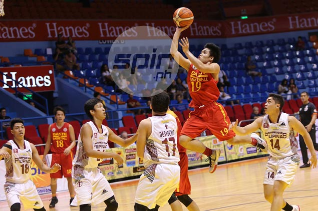 San Sebastian Stags pull away late against slumping UP Maroons for fourth straight win