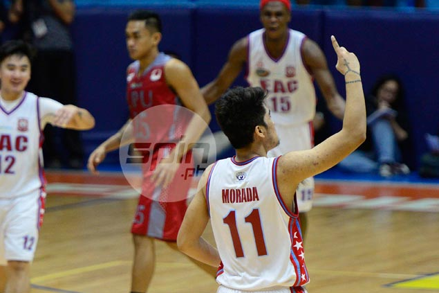 Former EAC cast-off Jorem Morada determined to make most of his second chance