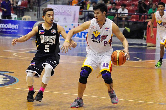 Pacquiao - Rene, not Manny - impresses in debut for MP Hotel in PBA D-League