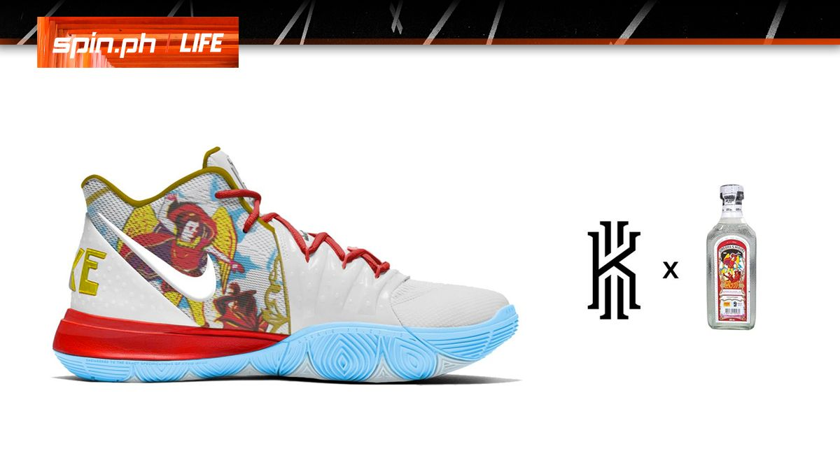 Nike 5 5 Collaborations Pinoy Pinoy Nike Kyrie Kyrie kXPiuZOT