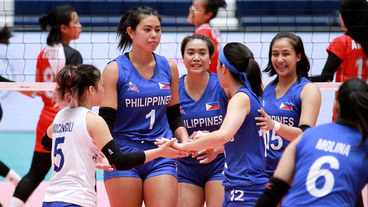 Kalei Mau Philippine team