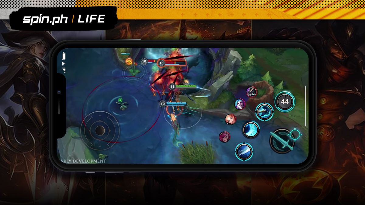 League Of Legends Mobile Spec