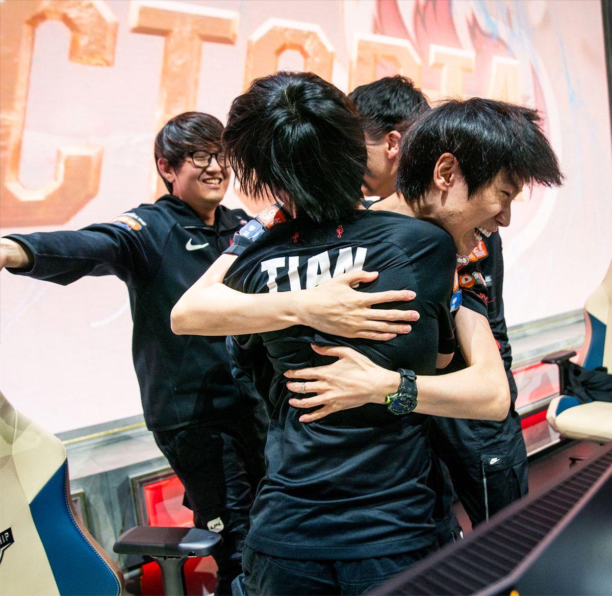 FPX wins League of Legends World Championship