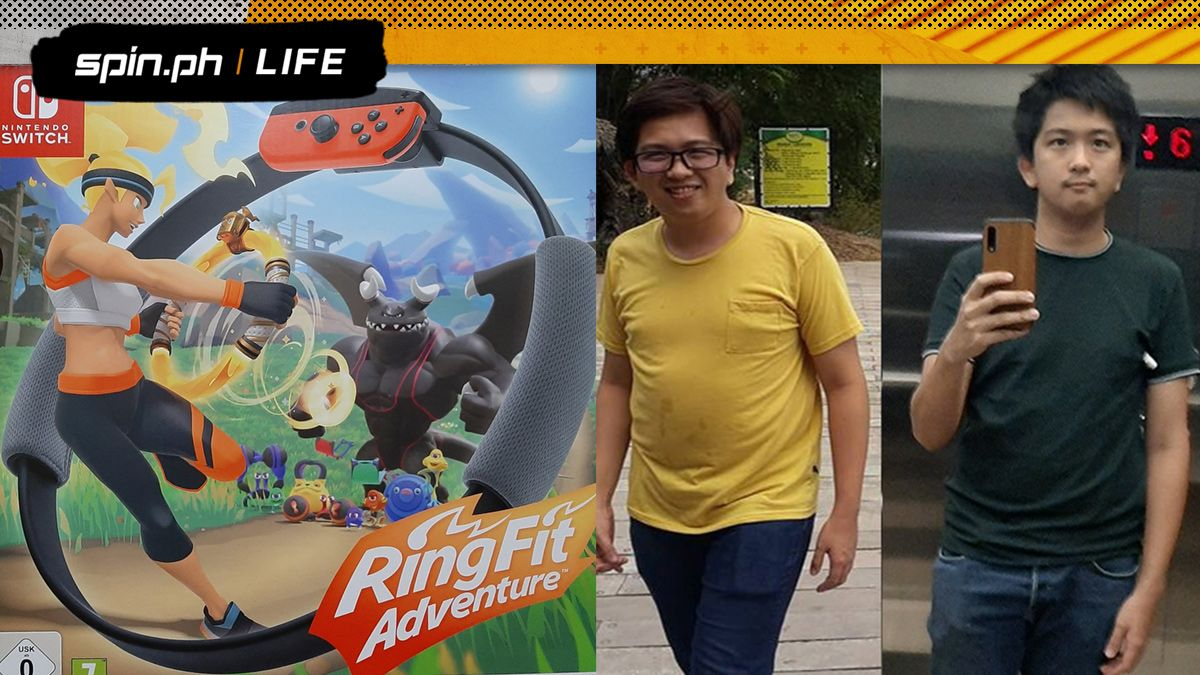 Ring Fit Adventure player shares his weight loss story