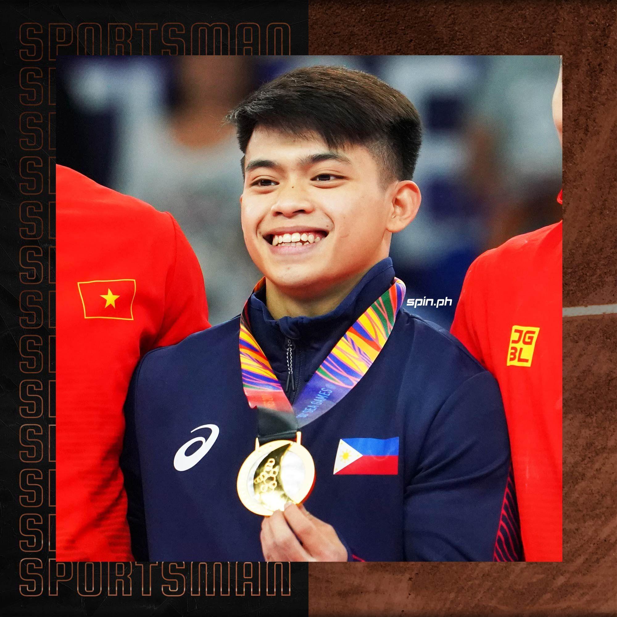Carlos Yulo of gymnastics.