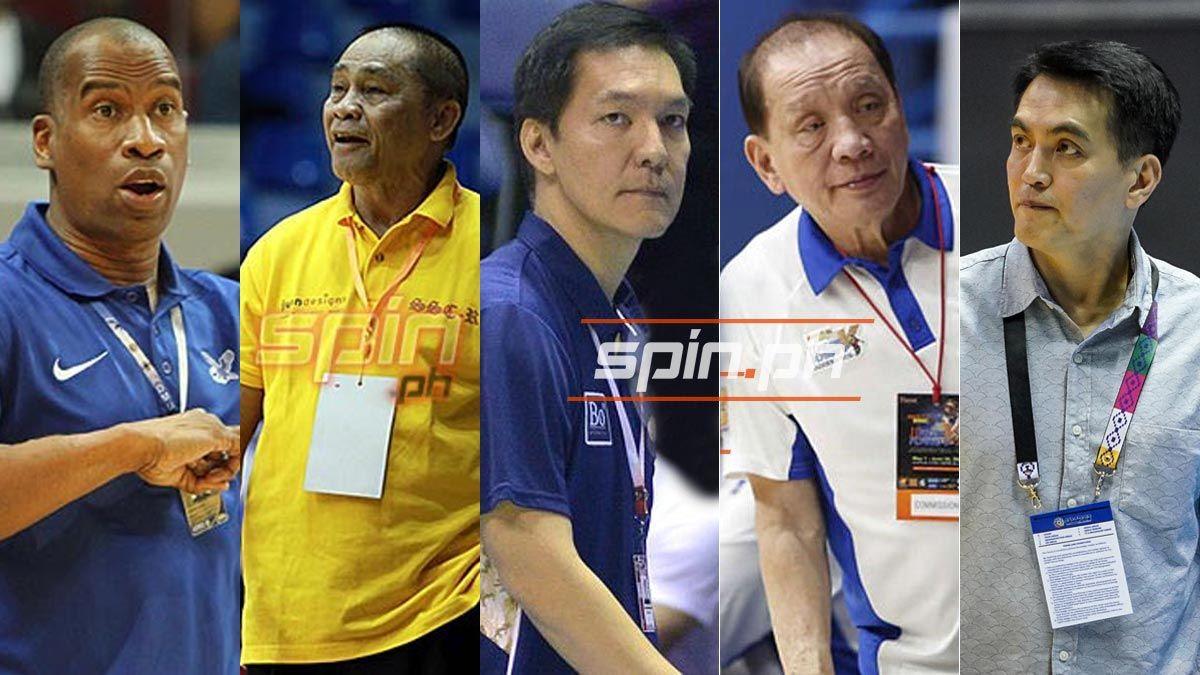 Best UAAP coaches