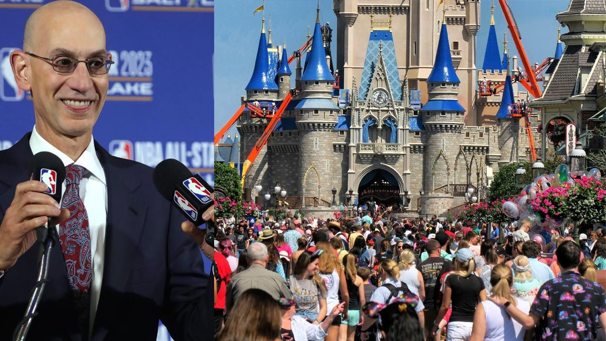 Adam Silver, NBA resumption at Disney