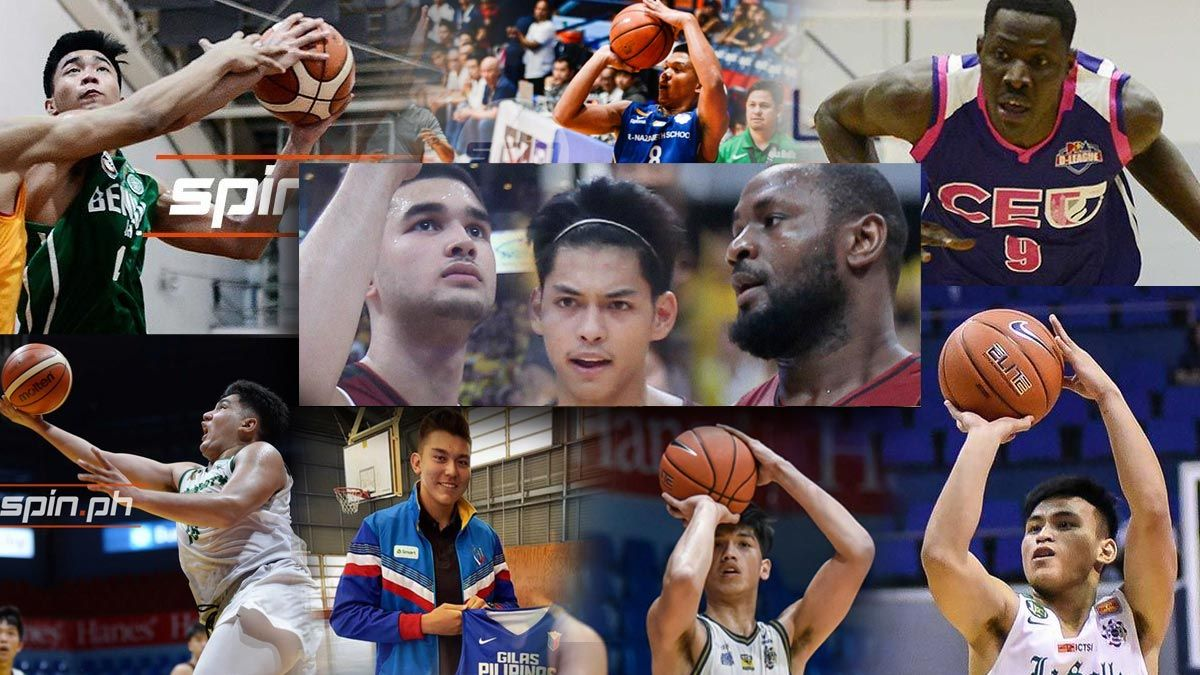 UP Maroons recruits