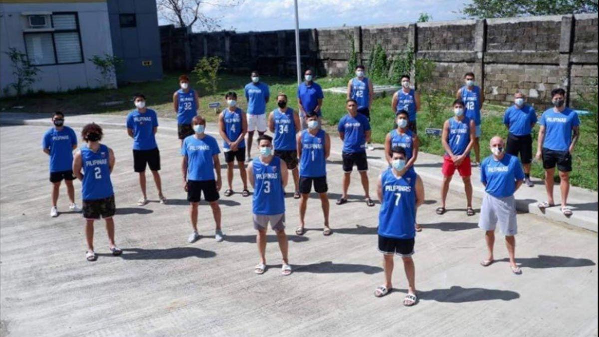 Gilas Pilipinas in Cavite bubble