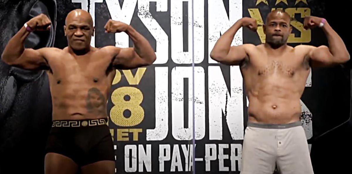 Mike Tyson Roy Jones
