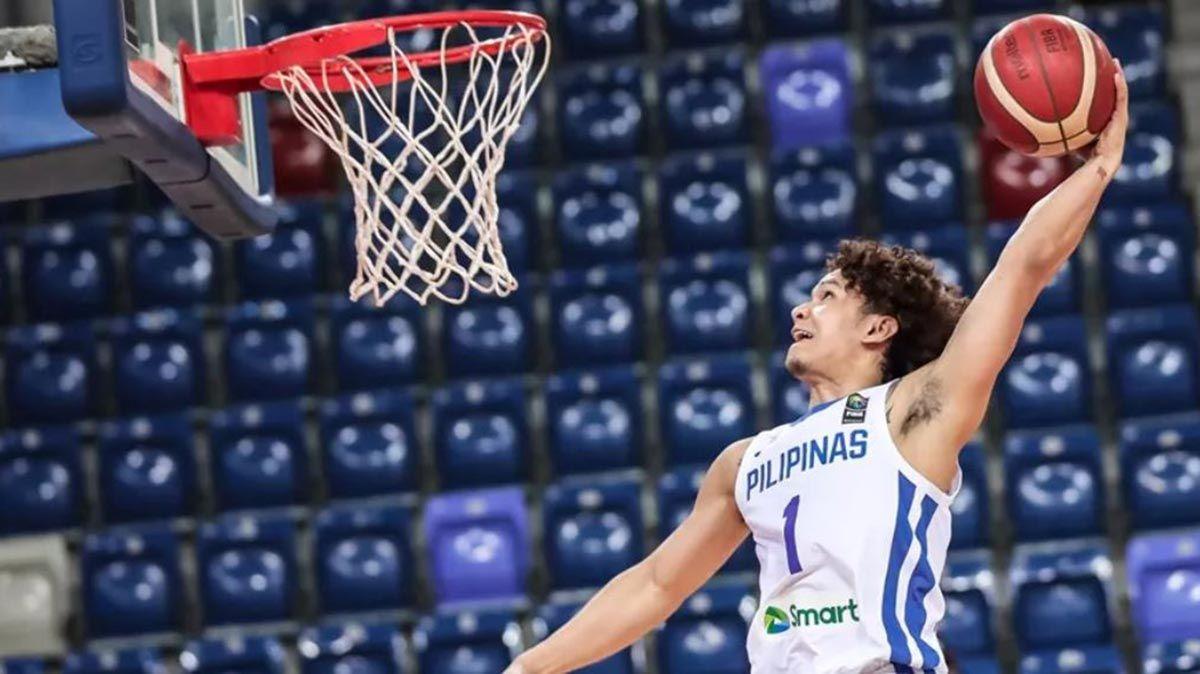 Juan Gomez from Liano dunk Gilas
