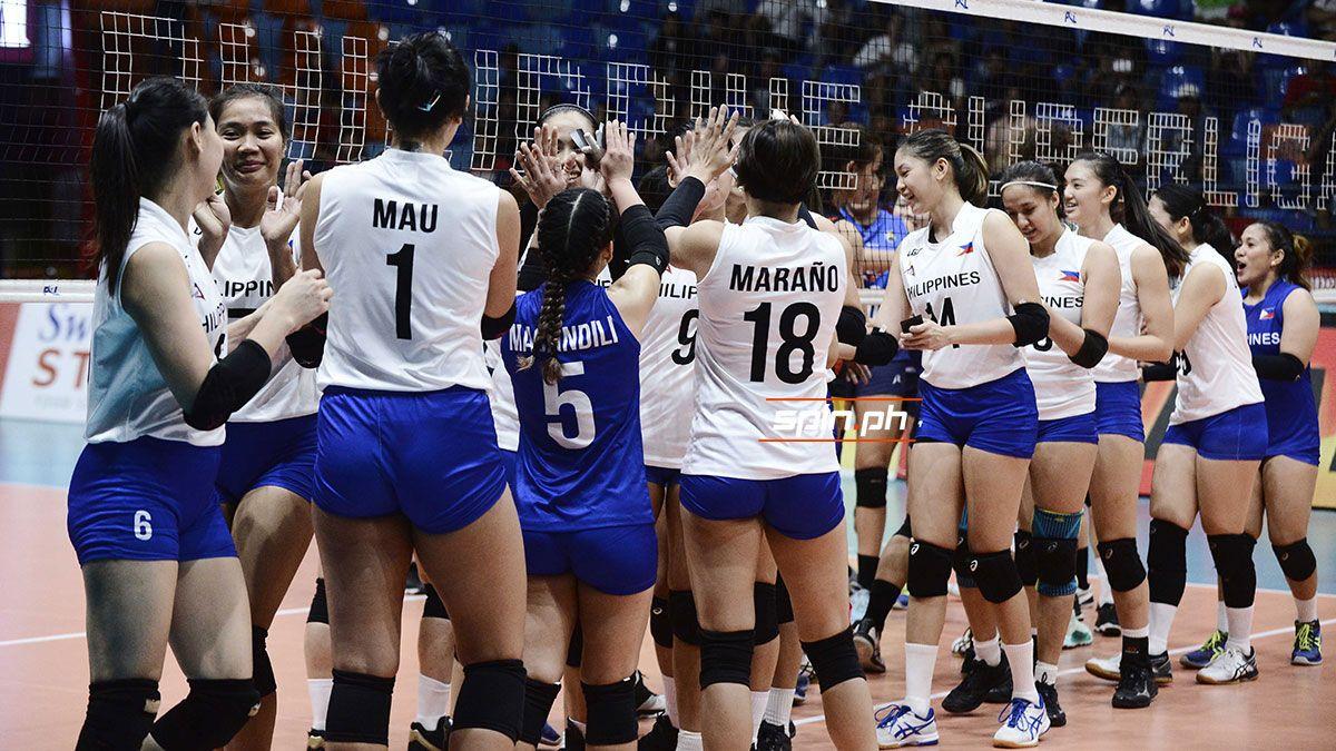 The Philippine Women's Volleyball Team