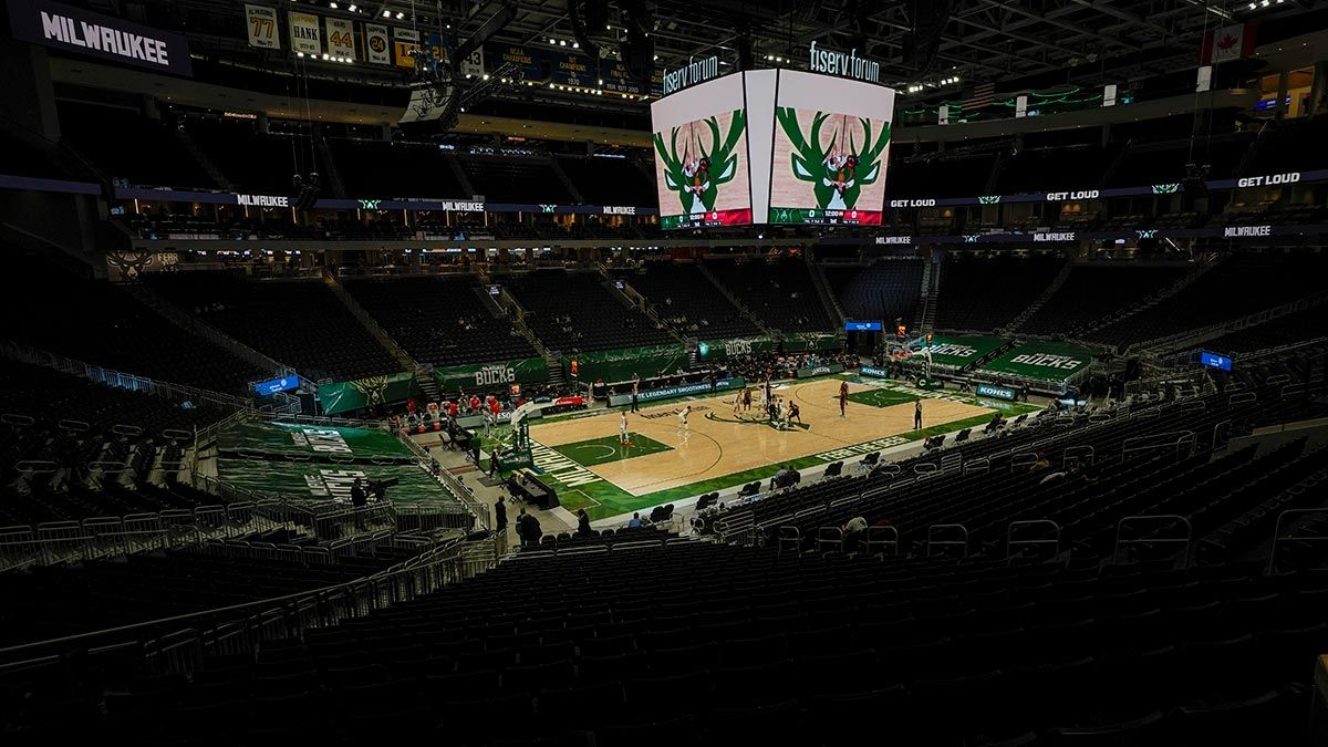 Fiserv Forum Milwaukee Bucks home court