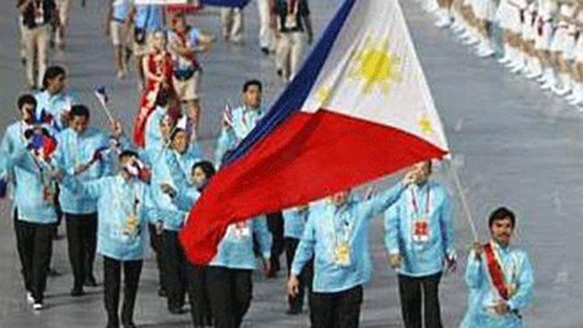 Manny Pacquiao flagbearer