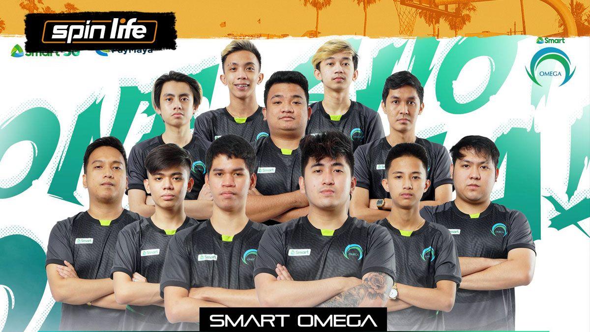 Smart Omega lineup for MPL-PH Season 8
