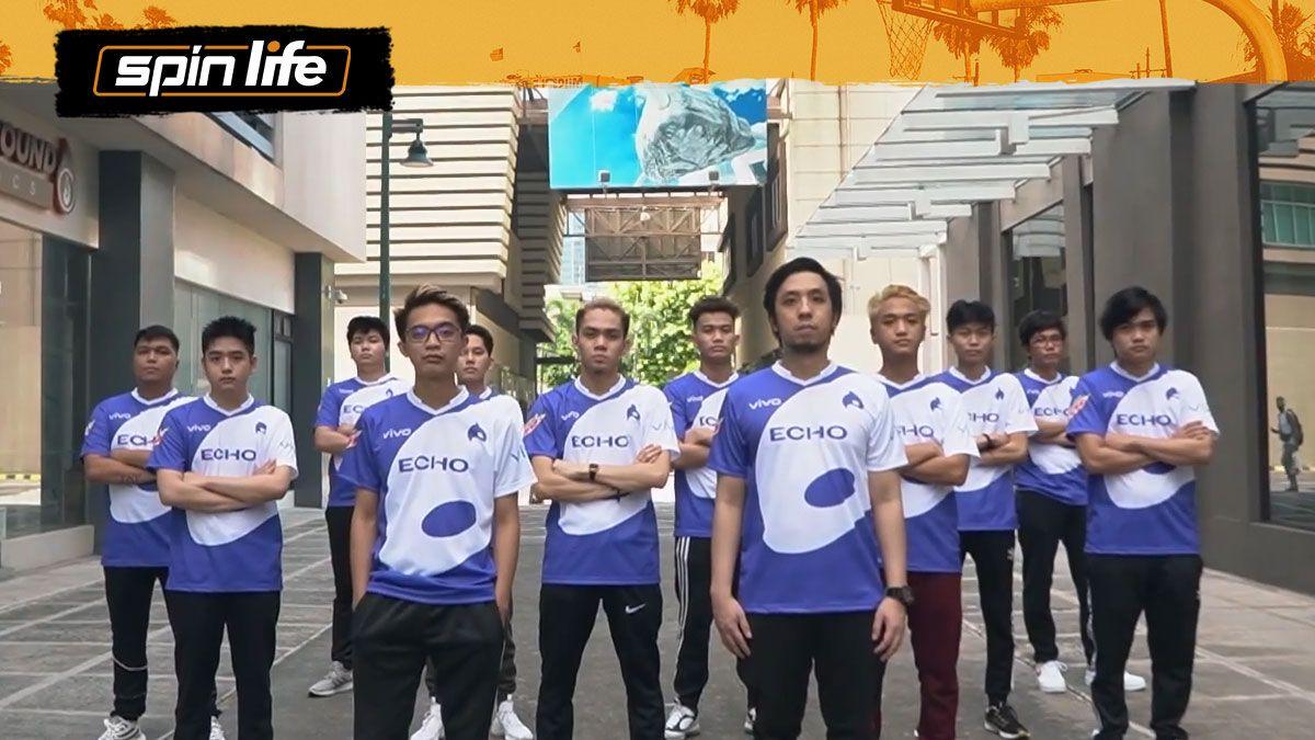 Echo roster for MPL-PH Season 8