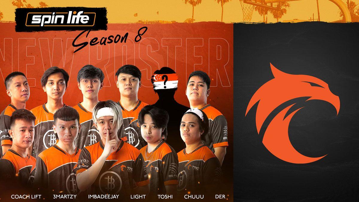 TNC Pro Team lineup for MPL-PH Season 8