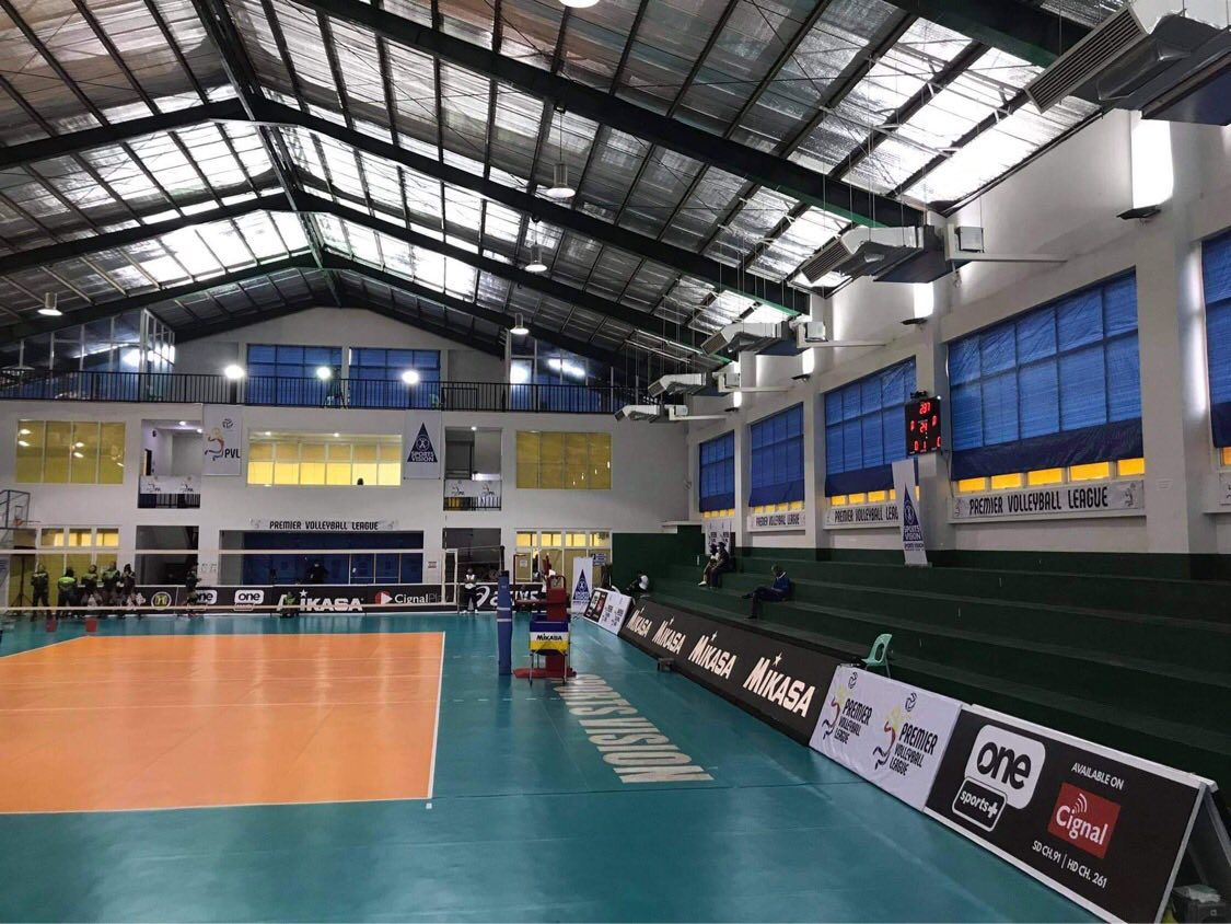 PVL court with placements from different sponsors
