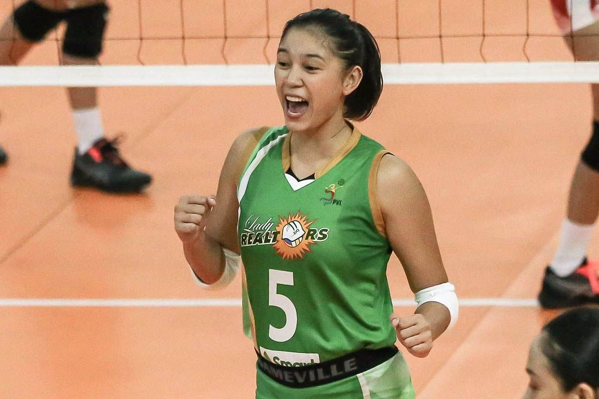 Mika Reyes of Sta. Lucia Lady Realtors.