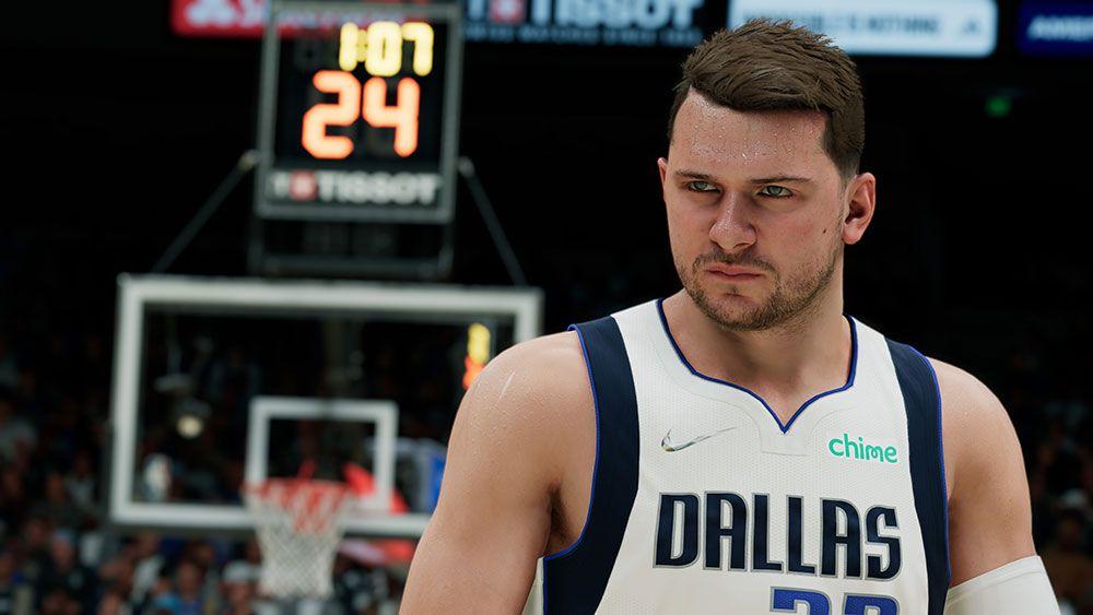 Luka Doncic screenshot from NBA 2K22