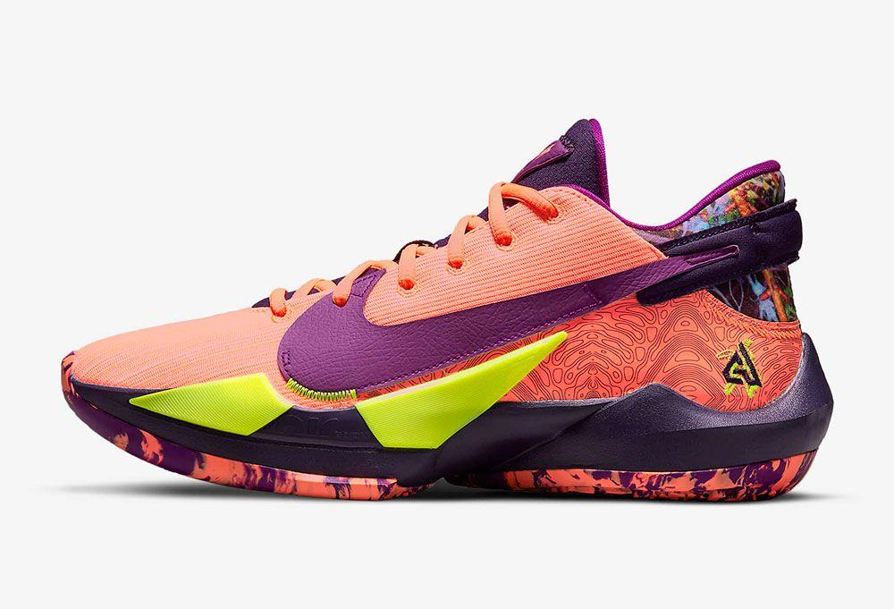 Nike Zoom Freak 2 'Bright Mango'