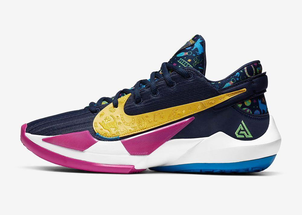 Nike Zoom Freak 2 'Midnight Navy'