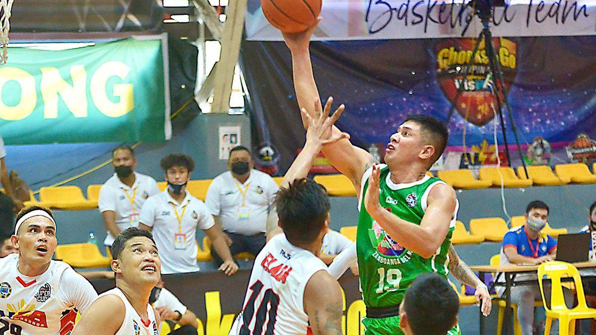 Jhong Bondoc VisMin Zamboanga del Sur vs Roxas