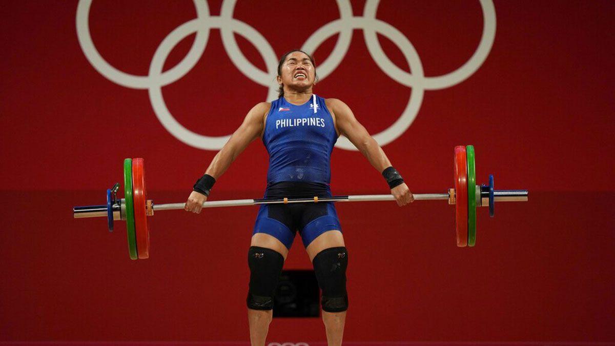 Hidilyn Diaz snatch Tokyo Olympics
