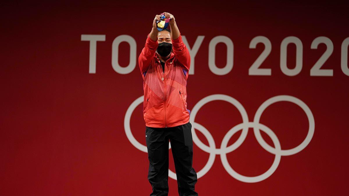 Hidilyn Diaz gold medal