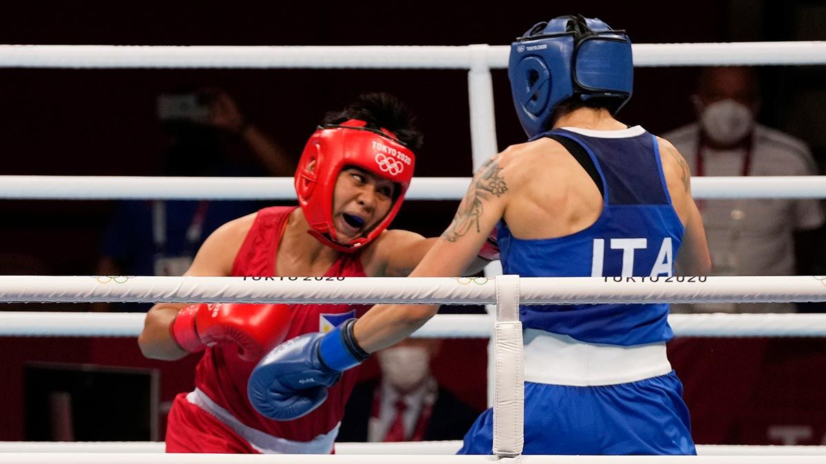 Nesthy Petecio vs Irma Testa at the Tokyo 2020 Olympics