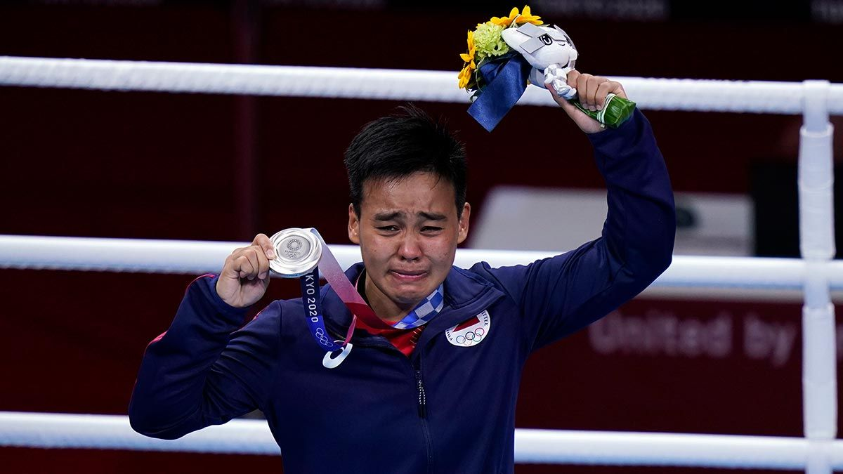 Nesthy Petecio emotional after silver medal finish