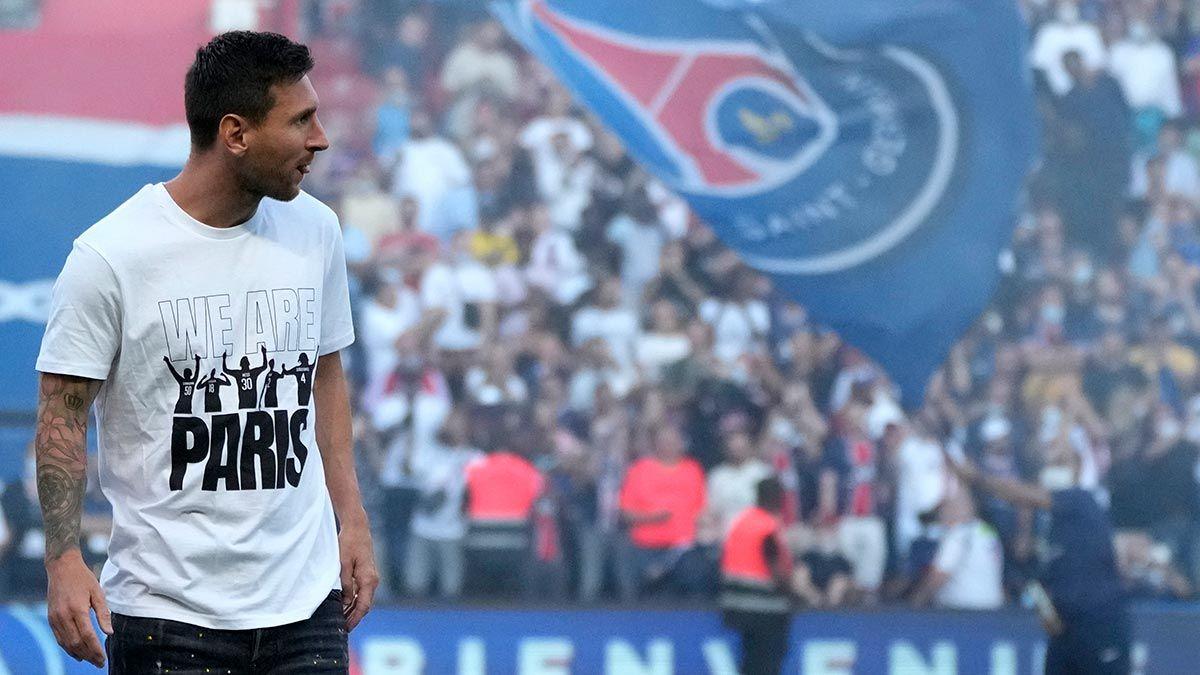Lionel Messi at PSG