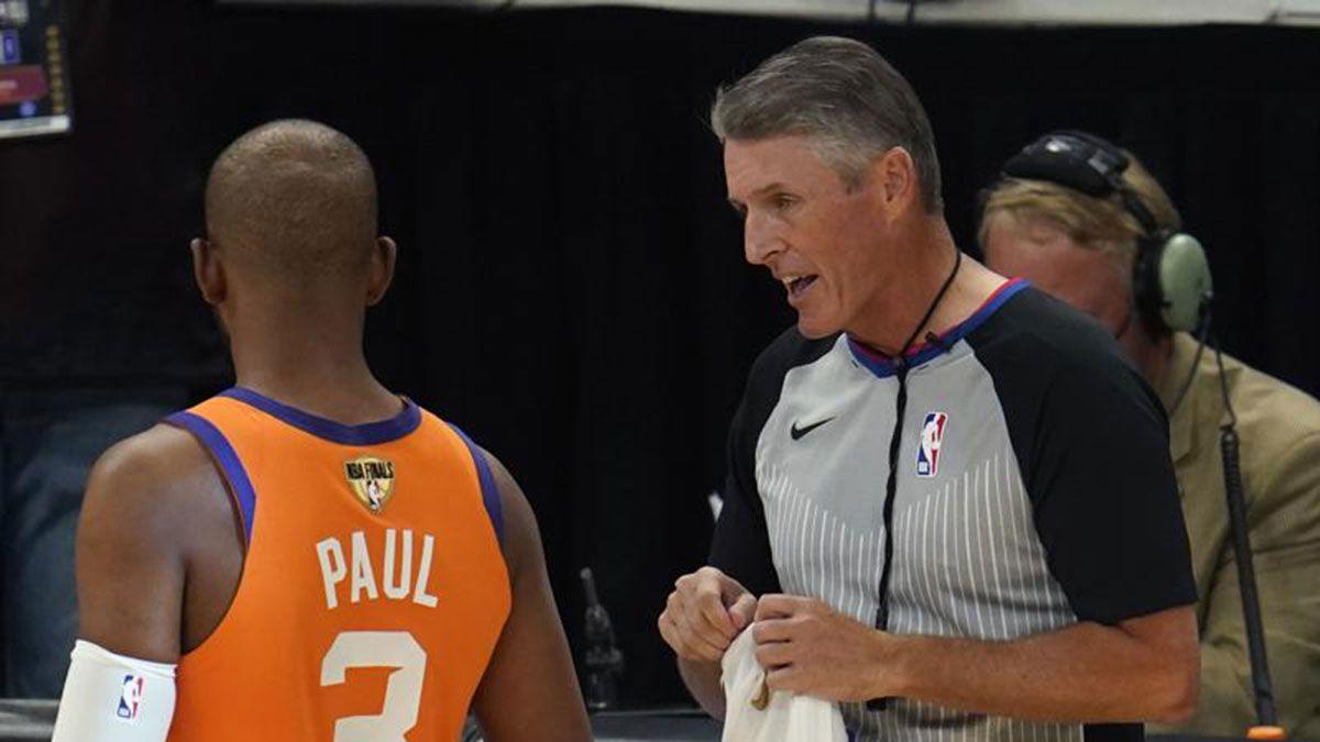 NBA referee Scott Foster Chris Paul