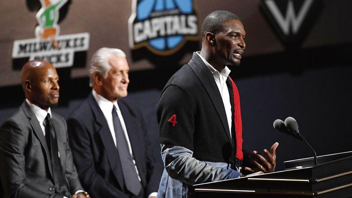 Chris Bosh Hall of Fame speech