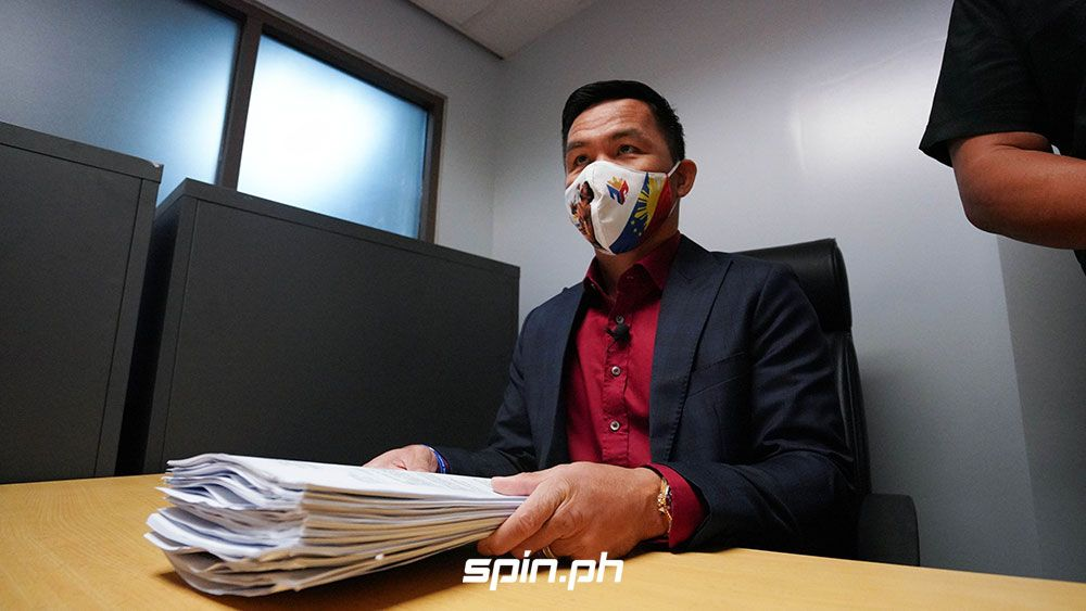 Manny Pacquiao files case against Pastor Apollo Quiboloy.