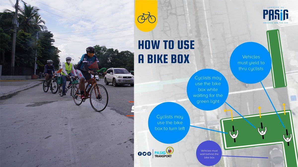 Pasig bike box