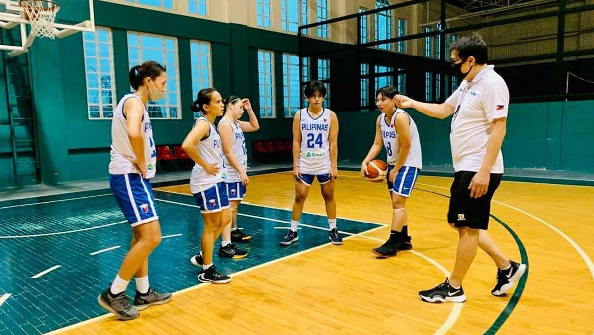 Gilas women practice