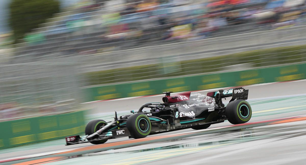 Lewis Hamilton Russian GP
