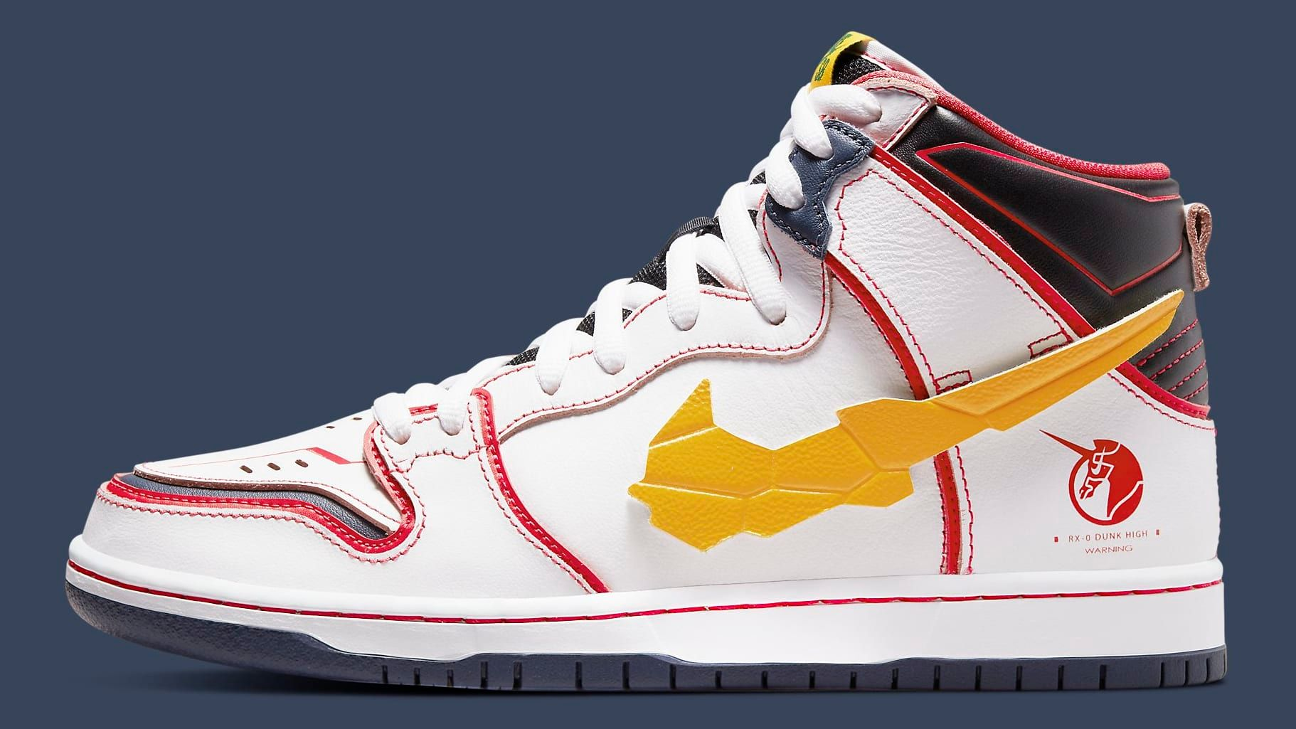 Nike SB Dunk High Gundam 'Unicorn'