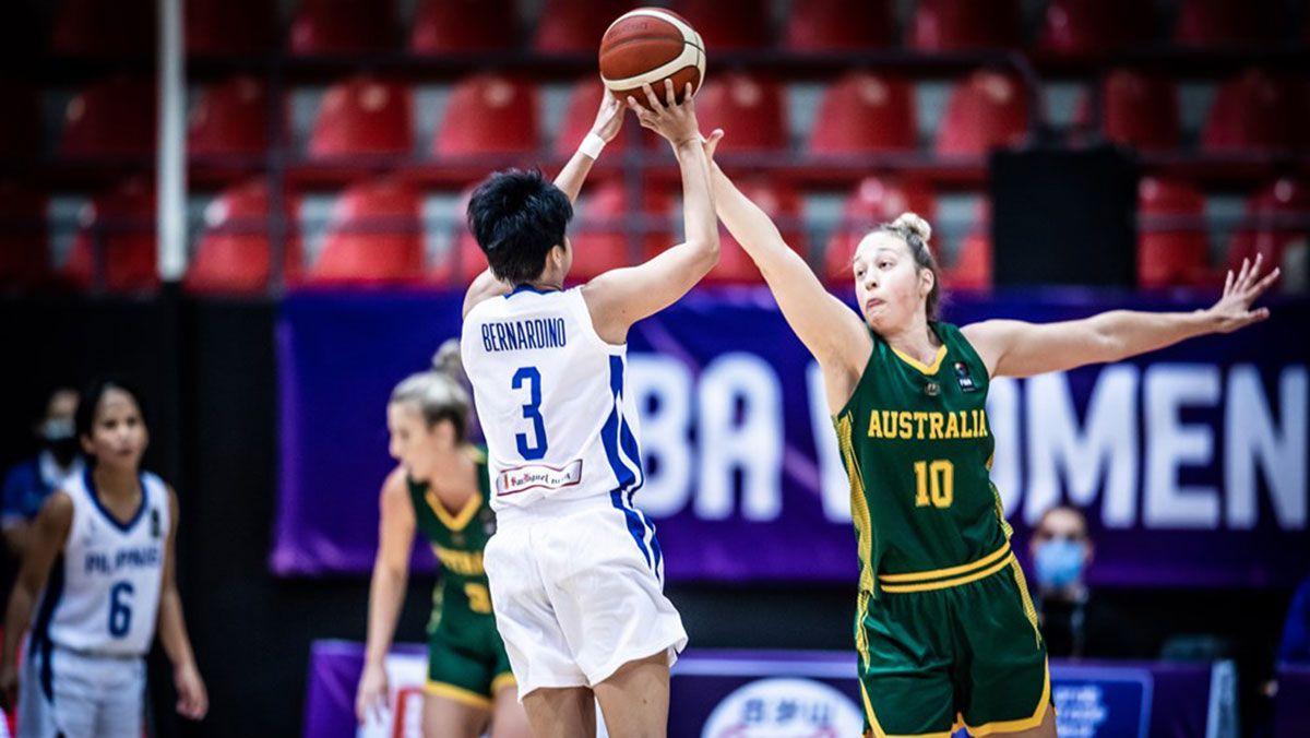 Afril Bernardino Gilas Pilipinas Women vs Australia