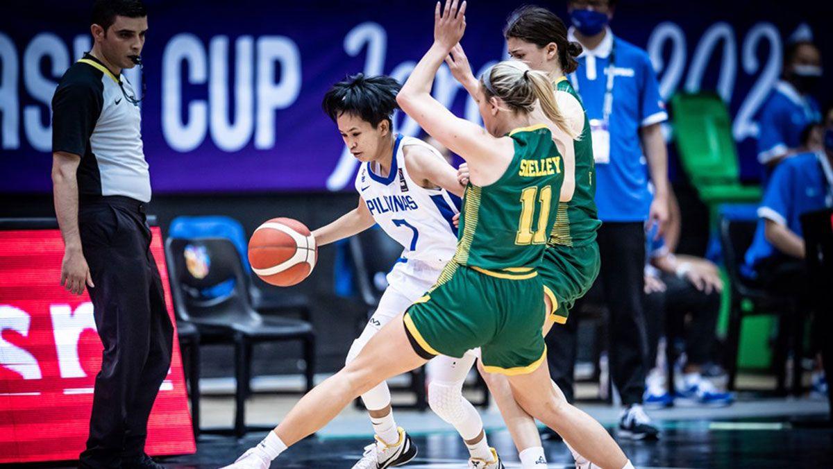 Janine Pontejos Gilas Pilipinas Women vs Australia