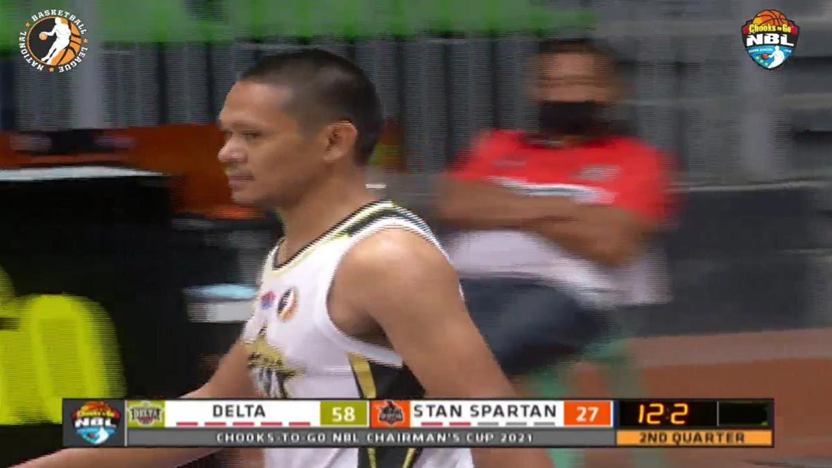 Ronald Pascual Pampanga Delta NBL debut